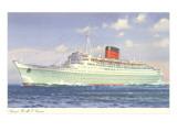 Cunard Caronia, Ocean Liner Posters