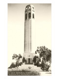 Telegraph Hill, Coit Tower, San Francisco, California Photo