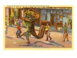 Dragon, Chinatown, San Francisco, California Prints