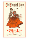 Poster for Fiesta Days, Santa Barbara, California Prints