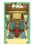 Art Nouveau January, Aquarius Posters