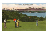 Golf, Seattle, Washington Prints