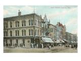 Main Street, Racine, Wisconsin Poster