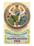Ad for International Exposition, San Francisco, California Print