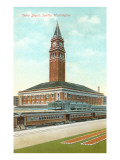 Union Depot, Seattle, Washington Prints