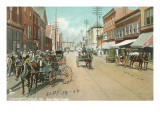 East Main Street, Charlottesville, Virginia Print