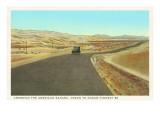 The American Sahara, Crossing Desert, Highway 80 Prints