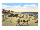 Beach at Oceanside, California Prints