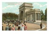 Concert at Golden Gate Park, San Francisco, California Prints