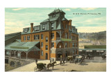 Train Station, Pittsburgh, Pennsylvania Prints