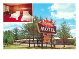 Sunset Vintage Motel Prints