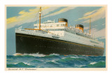 M.V. Britannic, Ocean Liner Poster