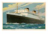 M.V. Britannic, Ocean Liner Print