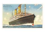 Holland-America Ocean Liner SS Veendam Posters