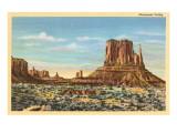 Monument Valley Mitten Butte Prints