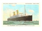 Holland-America Ocean Liner TSS Volendam Prints
