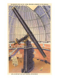 Yerkes Telescope, Williams Bay, Wisconsin Posters