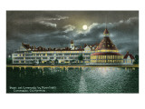 Hotel del Coronado by Moonlight, San Diego, California Poster