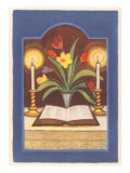 Open Book on Altar Posters