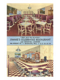 Jimmie's Celebrated Restaurant, Madison, Wisconsin Prints