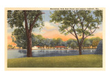 Menominee Park and Lagoon, Oshkosh, Wisconsin Prints