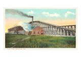 Coal Pier, Norfolk, Virginia Art