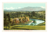 Winooski Valley and Mt. Mansfield, Burlington, Vermont Prints