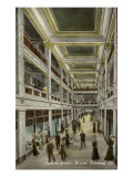 Interior, Jenkins Arcade, Pittsburgh, Pennsylvania Poster