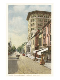 East Broad Street, Charleston, South Carolina Print
