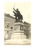 Civil War Memorial, Oshkosh, Wisconsin Prints