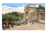 Band Stand, Golden Gate Park, San Francisco, California Kunstdrucke