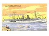 S.S. Yale, Ocean Liner Prints