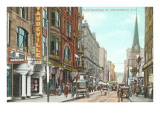 Westminster Street, Providence, Rhode Island Poster
