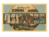 Greetings from Oshkosh, Wisconsin Prints