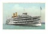 Steamer Hendrick Hudson Art