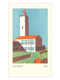 The Library, SDSU, San Diego, California Poster