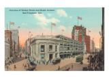 Grant Avenue and Market Street, San Francisco, California Print