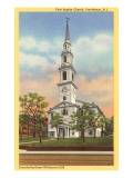 First Baptist Church, Providence, Rhode Island Posters