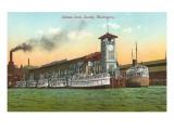 Colman Dock, Seattle, Washington Prints