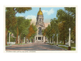 State Capitol, Cheyenne, Wyoming Prints
