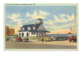 Coast Guard Station, Virginia Beach, Virginia Prints