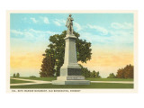 Warner Monument, Old Bennington, Vermont Posters