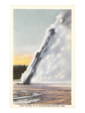 Daisy Geyser, Yellowstone National Park Posters