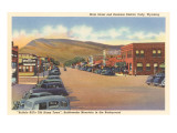 Main Street, Cody, Wyoming Poster