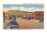 Main Street, Cody, Wyoming Posters