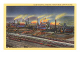 Blast Furnaces, Pittsburgh, Pennsylvania Poster