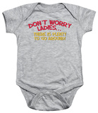 Infant: Don't Worry Infant Onesie