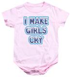 Infant: I Make Girls Cry Infant Onesie