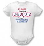 Infant: Flip Cup Infant Onesie