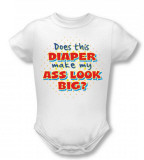 Infant: Big Ass Diaper Infant Onesie